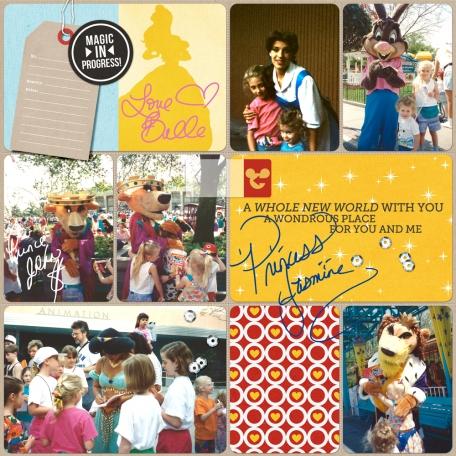 Autographs in Disney #03