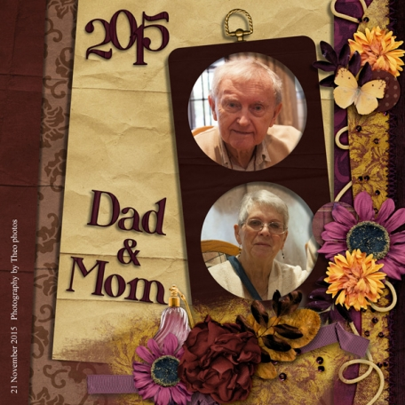 Dad & Mom - November 2015
