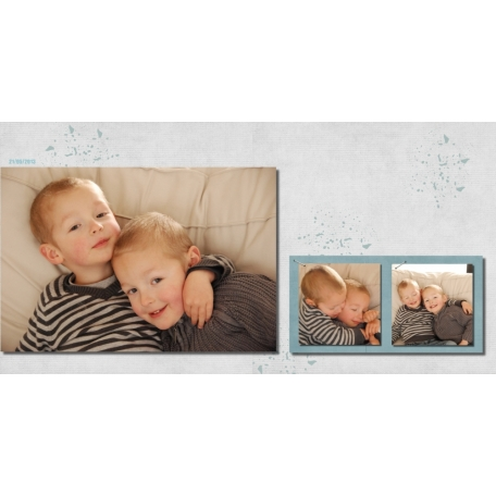Petits câlins entre frères / Brothers' hug