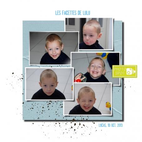 Les facettes de Lulu / Lulu's faces