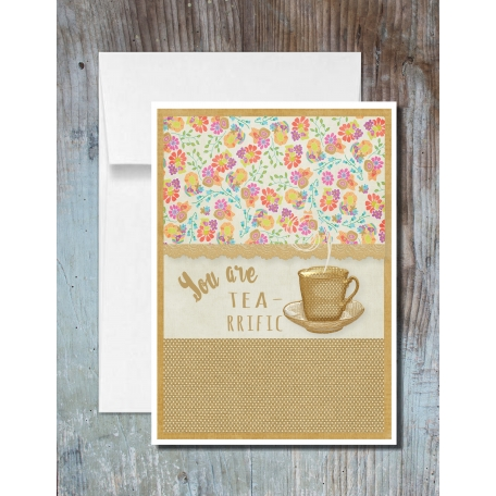 You Are Tea-riffic Cards