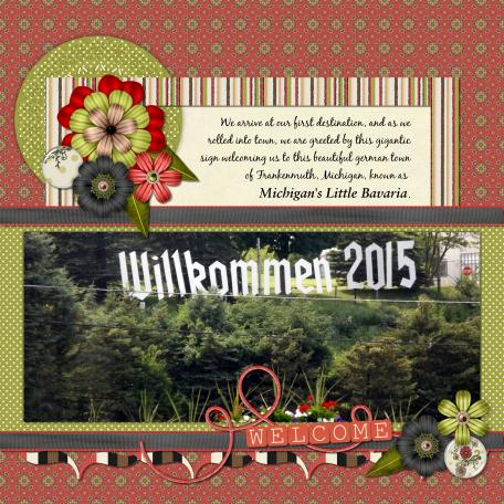 Welcome/Willkommen 2015