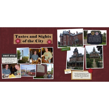 Tastes and Sights of the City