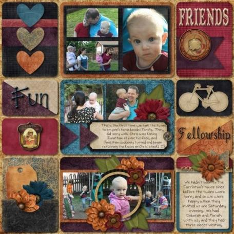 Friends Fun & Fellowship
