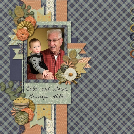 Caleb and Great-Grandpa