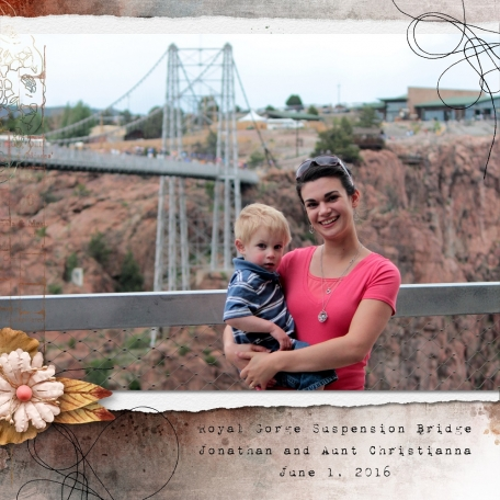 Royal Gorge - Jonathan and Aunt Christianna