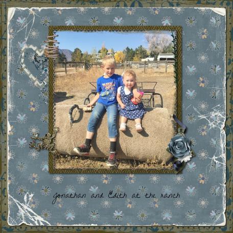 Jonathan and Edith at the Ranch