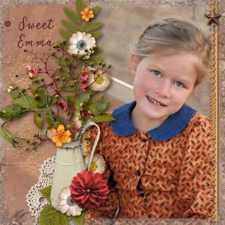 My Sweet Emma on her 7th Bir5thday