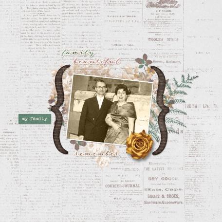 Vintage Memories : Genealogy