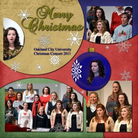 """2011 12 08 OCU Christmas Concert - """"Ugly Christmas Sweater's"""""""