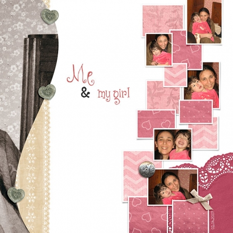 Me & My Girl (Right page)