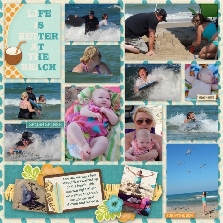 Project Life 52 ~ Week 31 page 2