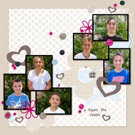 my 6 kids