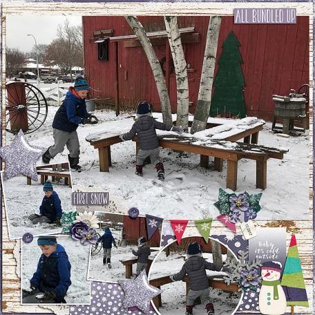 First Snow (12/17)