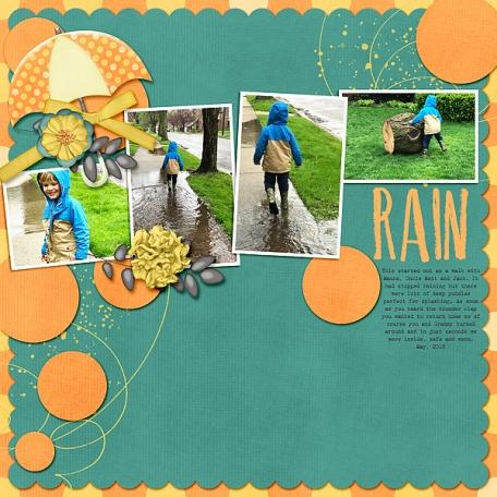 Rain or Shine (walk with Drew)