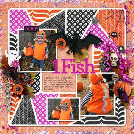 Hello Halloween (Fish)