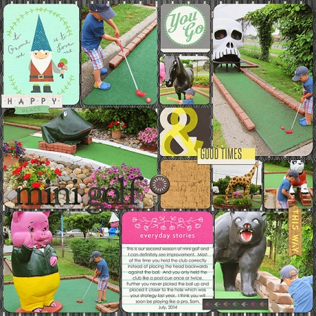 Mini Golf Sam Style