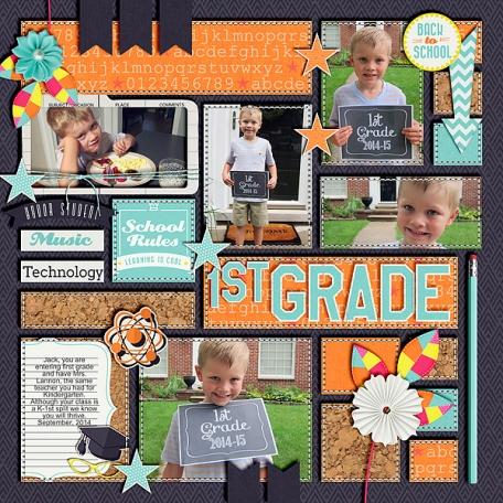 First Day First Grade