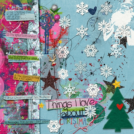 Things I love about Christmas