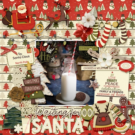 Waiting for Santa (Hygge)