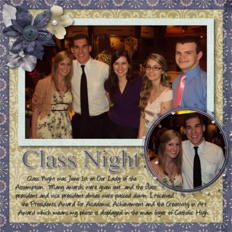 Class Night - 2012