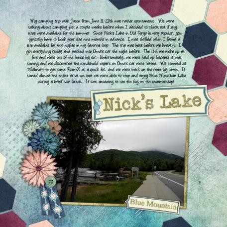 Nick's Lake 2014 - Blue Mountain