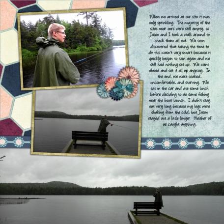 Nick's Lake 2014 - Fishing