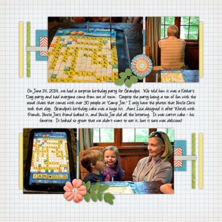 Grandpa's 75th Birthday Cake