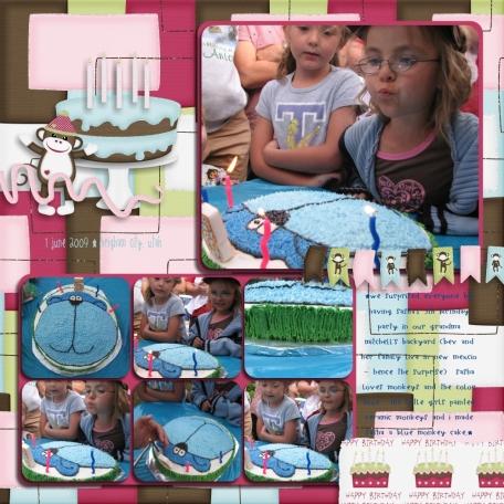 sasha's 5th birthday (page 2)