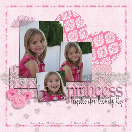 princess: daughter of a heavenly king