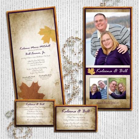 (wedding book page 2) invitations