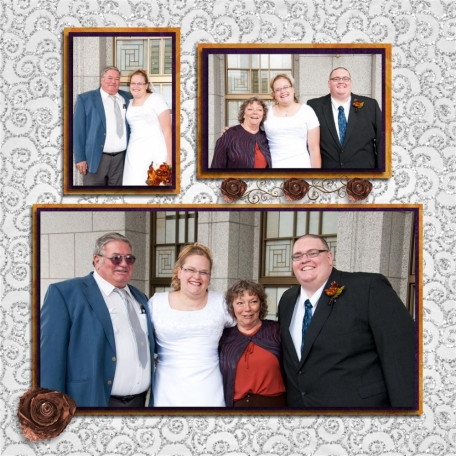 (wedding book page 9) grannie and grandpa