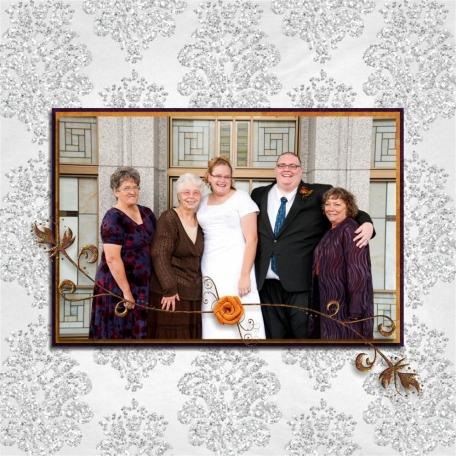 (wedding book page 10) grandmas