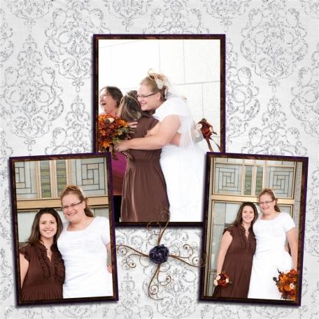 (wedding book page 16) my best friend