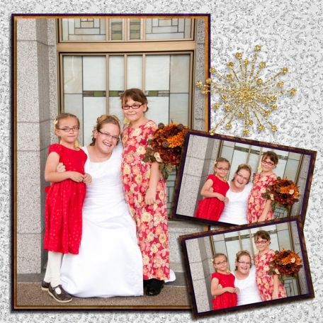 "(wedding book page 17) my ""nieces"""