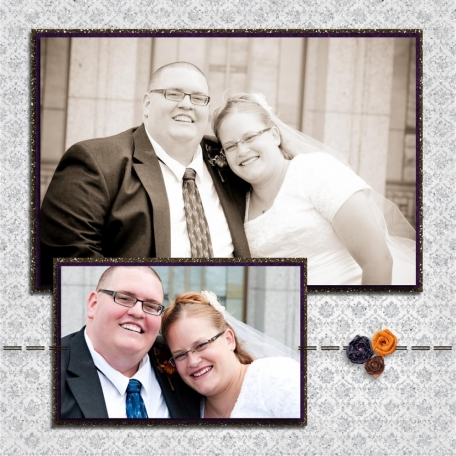 (wedding book page 30) together