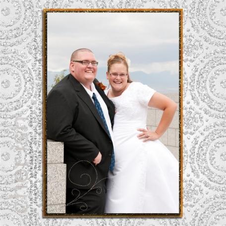 (wedding book page 36) cherish