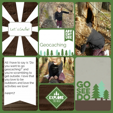 Geocaching - ROAR!!