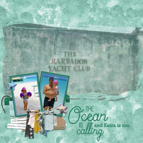 The Ocean is Calling ... and Keira is too