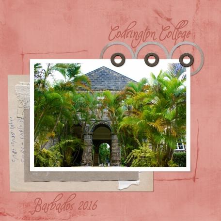 Barbados 2016 - 17: Codrington College
