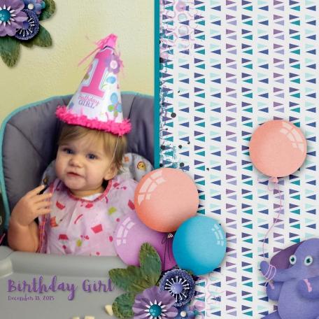1st Birthday 1