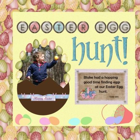 Easter Egg Hunt part 1