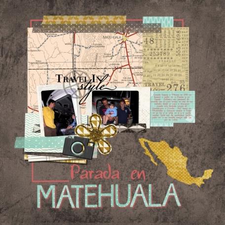 Parada en Matahuela