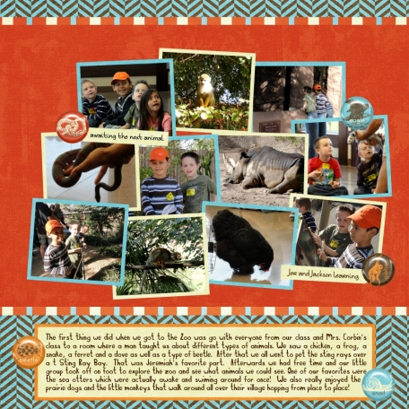 Field Trip to the Zoo pg.2