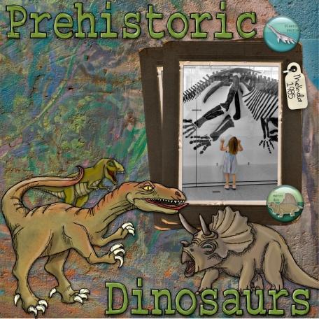 Prehistoric Dinosaurs.