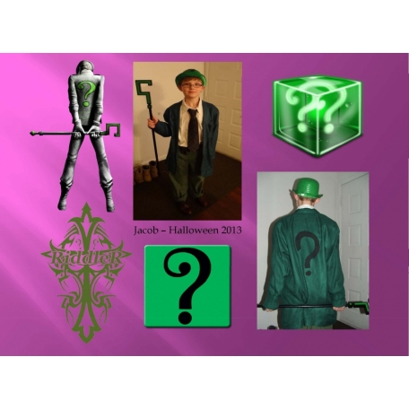 Jacob as the Riddler