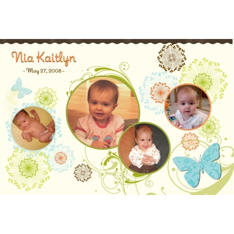 Baby Book: Nia's First Year (1/44 - Cover)