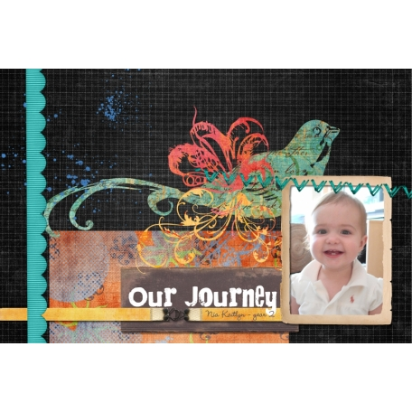 Baby Book: Nia's Second Year (1/12)
