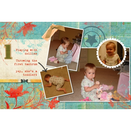 Baby Book: Nia's Second Year (2/12)