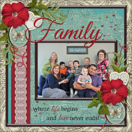 Family where life begins and love never ends!